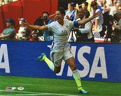 0eb00137e Carli Lloyd USA Soccer Signed 16x20 2015 World Cup Celebration Photo PSA