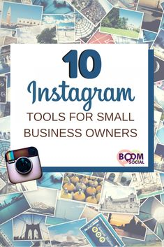 Using the right tools can save you time and money, and can actually make you a better marketer. Don't believe me? Take these 10 Instagram tools for small business owners for a test drive and tell me what you think!