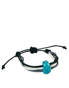 ASOS Turquoise Stone Bracelet by ASOS