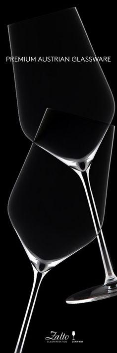 Premium award-winning Austrian glassware. BUY HERE: http://www.ahalife.com/product/1369/hand-blown-universal-glass?utm_source=Pinterest&utm_medium=ads&utm_campaign=Zalto_iOS&rw=0