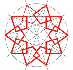 Geometric Shapes Art, Geometric Drawing, Geometric Pattern Design, Geometry Pattern, Geometry Art, Geometric Designs, Mandala Design, Islamic Art Pattern, Arabic Pattern