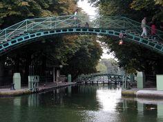 Canal Saint Martin, Parigi