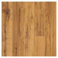 Settled on this design for the upstairs bedroom attic flooring.  Pergo Max 4-15/16-in W x 47-15/16-in L Hampton Hickory Laminate Flooring