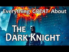 """Why The Dark Knight is the """"Golden Standard"""" for all hero movies... RIP Heath Ledger"""