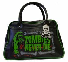 Zombies never die purse from Goodgoth