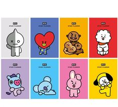 Contents : BT21 planner BT21 CHARACTER STICKER set (2 ea). BT21 Study Planner. Title : BT21 Study Planner. Artist : BTS Bangtan. Format : Study Planner. We usually send response within 24 hours.