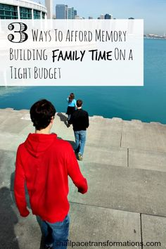 Family vacations are such a great way to bond together. If you struggle to make family vacations a priority in your budget and calendar, here are 3 ways that can help.