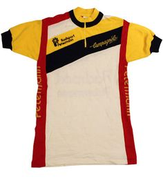 70's vintage Campagnolo cycle jersey made in Italy by SHOPakifuu