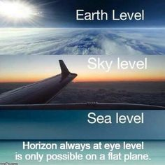 Shockingly, real science and observation actually prove earth is flat and not a spinning ball.