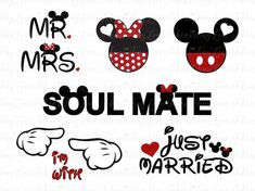 Wedding Anniversary SVG Design for Silhouette and other craft cutters (. Mikey, Craft Cutter, Mr And Mrs Wedding, Disney Love, Disney Family, Disney Stuff, Disney Shirts, Disney Clothes, Disney Cars