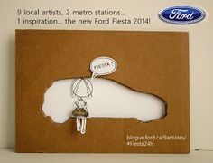 Cara Carmina is having a #Fiesta24h with Ford Quebec!!!!!!  go see at www.9artistes.ca :D (applauses!)