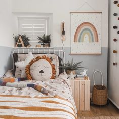 Looking for beautiful ideas for childrens / kids scandi decor this amazing room encompasses some of the best kids bedroom accessories available from s Boy Toddler Bedroom, Toddler Rooms, Girls Bedroom, Childrens Bedrooms Boys, Boys Jungle Bedroom, Toddler Room Decor, Room Kids, Childrens Room Decor, Toddler Girl