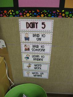 First Grade Fanatics: Daily 5