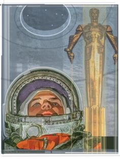 Yuri Gagarin...cosmonaut by Michael Stribling