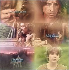 "Rumpelstiltskin: ""All I have is my boy. If they take him away from me, I will truly, truly turn to dust..."""