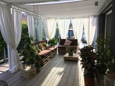 Drapes to block sun. Drapes to block sun. Always wanted to discover how to knit, nonetheless not certain where to start? This kind of Overall. House Design, House, Home, Outdoor Rooms, Backyard Decor, Porch Decorating, New Homes