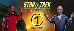Timelines Celebrates 1st Anniversary with Convergence Day   One year ago Disruptor Beam launched an incredibly ambitious project: Star Trek: Timelines. Bringing together ships heroes villains and beloved storylines from all of Star Trek history Star Trek Timelines set out to create the best Star Trek mobile game ever a goal we strive to reach every day.  To celebrate our anniversary players are invited to participate in our first Convergence Day celebration marking the beginning of the…