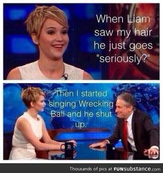 Reason #5541249665 to love Jennifer Lawrence.