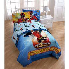 Image Result For Power Ranger Samurai Comforter Sets