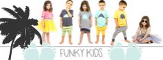 New collection FUNKYKIDS. Clothing for children Colourful Outfits, Children, Kids, Clothing, Cotton, Poster, Collection, Design, Young Children