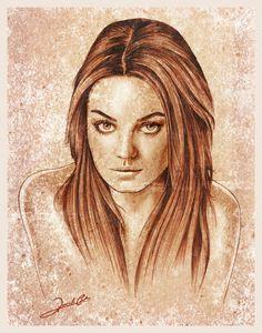 Mila Kunis By Renato Cunha