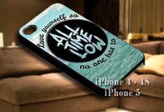 All Time Low Logo for iPhone case-iPhone 4/4s/5/5s/5c case cover-Samsung Galaxy S3/S4/ case cover
