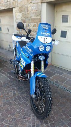 YAMAHA XTZ 750 1991 Jean Claude Olivier Tribute Motorcycle Tires, Scrambler Motorcycle, Racing Motorcycles, Motorcycle Outfit, Bike, Yamaha Xt 600, Super Tenere, Rallye Raid, Dual Sport