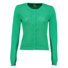Mooie kwaliteit vestje 'Park' van Who's That Girl in groen ✓ Voor 21.00 uur besteld, morgen in huis