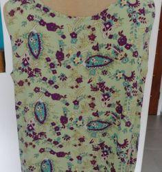 regata estilo cropped - blusas handmade