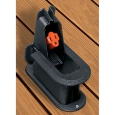 You will always have power for your stereo or electronics #outdoors with this raised #deck grommet. It folds into your deck when not in use, and protects extension cords from impact and weather damage.