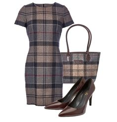 Barbour: New Autumn/Winter Collection (Part Tartan Dress, Wool Dress, Tartan Plaid, Barbour, Winter Dresses, Dress Winter, Professional Wardrobe, Dress Backs, Beautiful Outfits