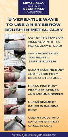 289 Best Metal Clay Jewelry images in 2018 | Metal clay