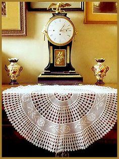 Crochet: toalha de mesa