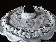 oreo cookie cream pie