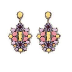 Orecchino LOTO variante GIALLO Charmed, Drop Earrings, Bracelets, Jewelry, Jewerly, Jewlery, Schmuck, Drop Earring, Jewels