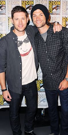 the boys looking pretty at Comic Con 2015