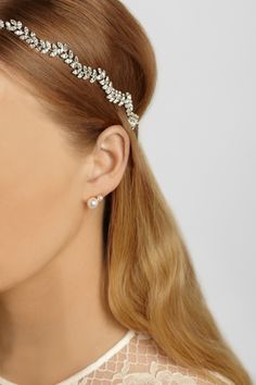 Jennifer Behr - Delicate Vine Swarovski crystal-embellished headband 5b6199d95e3d