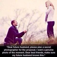 you know it, right... for the future husband