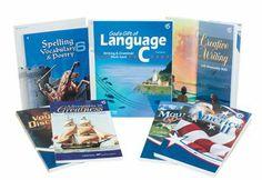 Ashlynn Abeka Language Arts Grade 6 Homeschool Child Language Arts Kit