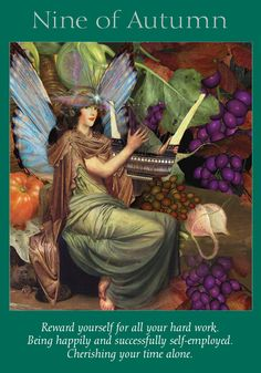 Oracle Card Nine of Autumn | Doreen Virtue | official Angel Therapy Web site