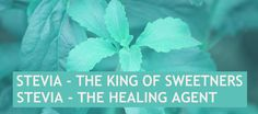 Stevia - the king of sweeteners, the healing agent