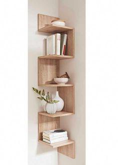 Corner bookshelf #Decoratingbathrooms