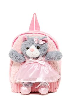 LOVE  this sweet Popatu Cat Backpack as a gift for a little girl     Sponsored by Nordstrom Rack.