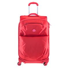 DELSEY: FOR ONCE suitcase #gift #travel #coral