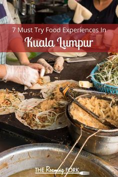 Kuala Lumpur, Malaysia is rich with food experiences, from street food, bustling… Malaysia Travel Guide, Malaysia Trip, Penang, Kuala Lumpur Travel, Kuala Lampur, Asian Market, Malaysian Food, Malaysian Recipes, Borneo