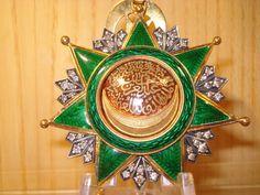 Osmanje-Orden mit Brillianten Medaille Medal Osmanisches Reich Ottoman Order