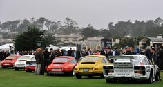 Even if the mist was thick enough to rival the Nürburgring, the scenes at the 2013 Pebble Beach Concours d'Elegance were simply breathtaking. Cathy Dubuisson visited the Concours on Sunday morning to capture the sights with her camera. Pebble Beach Concours, Concours D Elegance, Golden Age, Mists, Porsche, Automobile, Wheels, Scene, Magazine