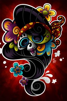 Amy Skull by Marcel Mello