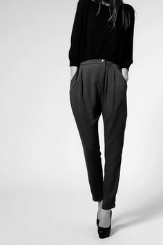 simple gorgeous pant, with heels