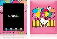 Skinit Hello Kitty Balloon Fence Vinyl Skin for Apple iPad 1 by Skinit. $23.99. IMPORTANT: Skinit skins, stickers, decals are NOT A CASE. Our skins are VINYL SKINS that allow you to personalize and protect your device with form-fitting skins. Our adhesive backing can be applied and removed with no residue, no mess and no fuss. Skinit skins are engineered specific to each device to take into account buttons, indicator lights, speakers, unique curvature and will not interfere w...